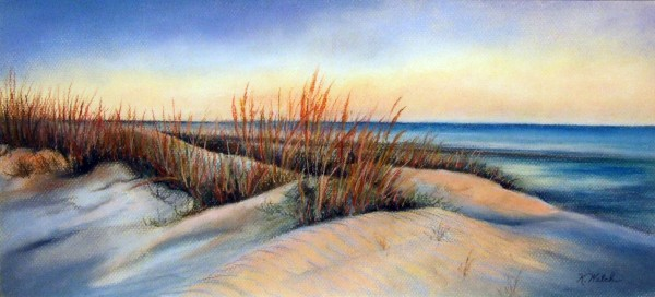 Third Place | Kathyrn Welch | CAROLINA COAST | pastel