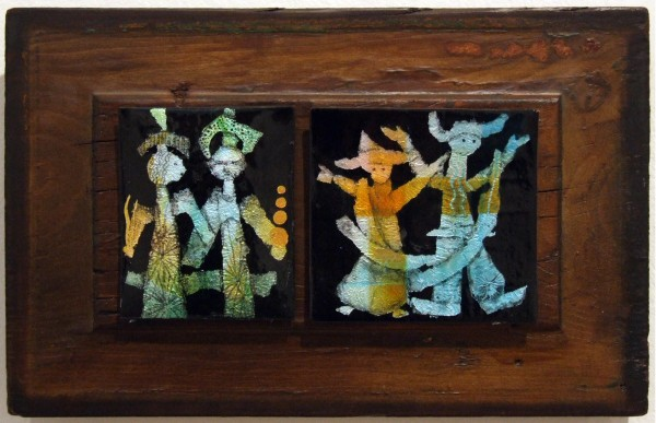 Second Place | Eleny Kemp | DANCERS | enamel