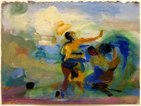 Rosemarie Beck | painting | 1989