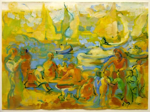 Rosemarie Beck | painting | 1994