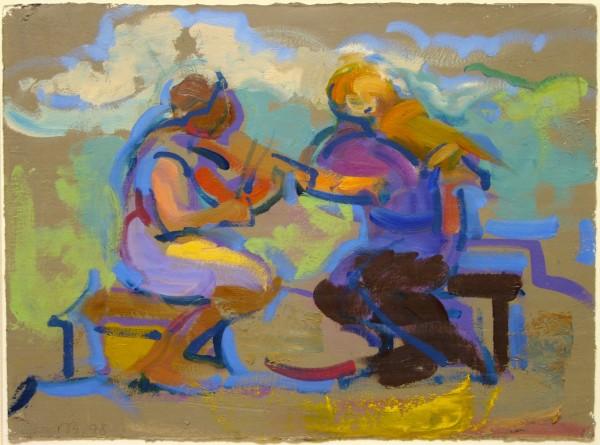 Rosemarie Beck | painting | 1998
