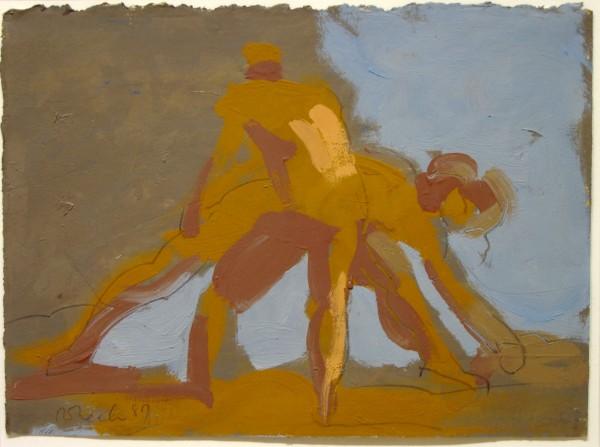 Rosemarie Beck | painting | 1987