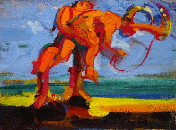 Rosemarie Beck | painting | 1983