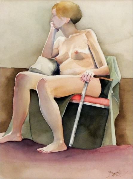 David Battle | NUDE STUDY #10 | acrylic