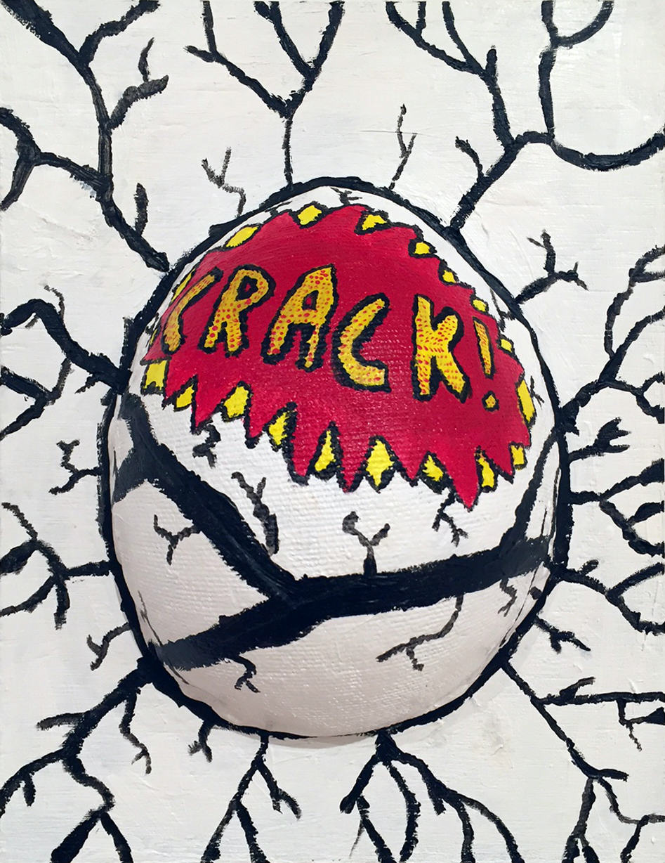 David Henderson | CRACK | mixed media