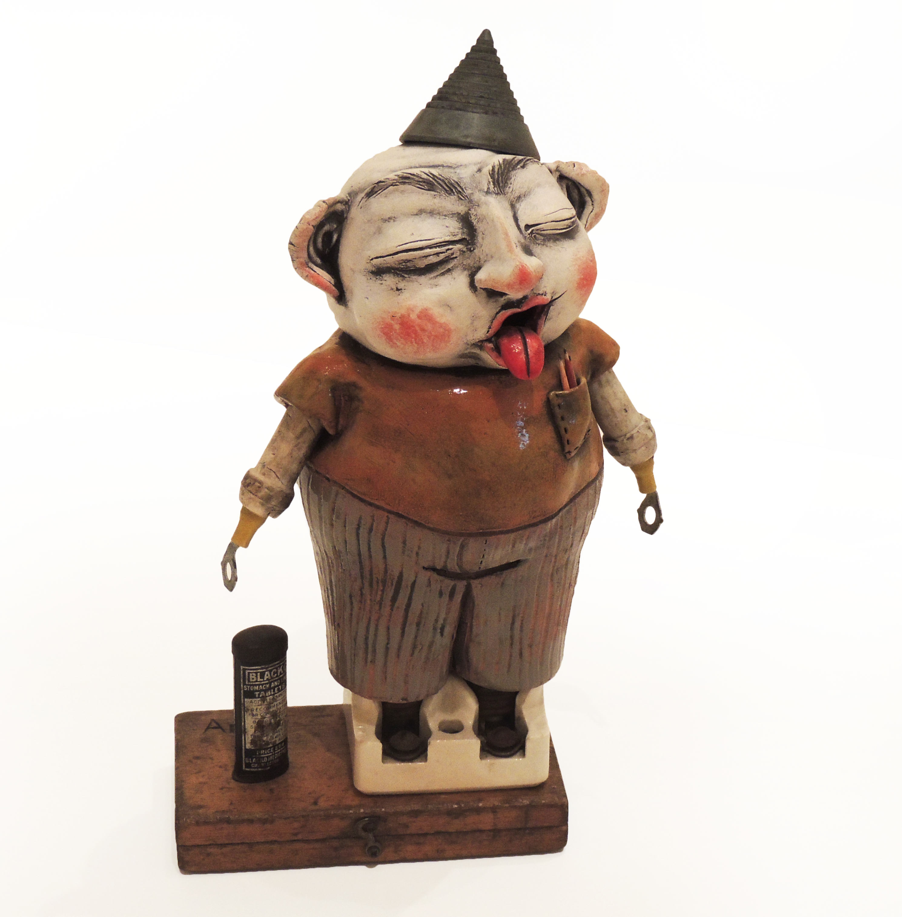 Debbie Loffing   ANDY   mixed media