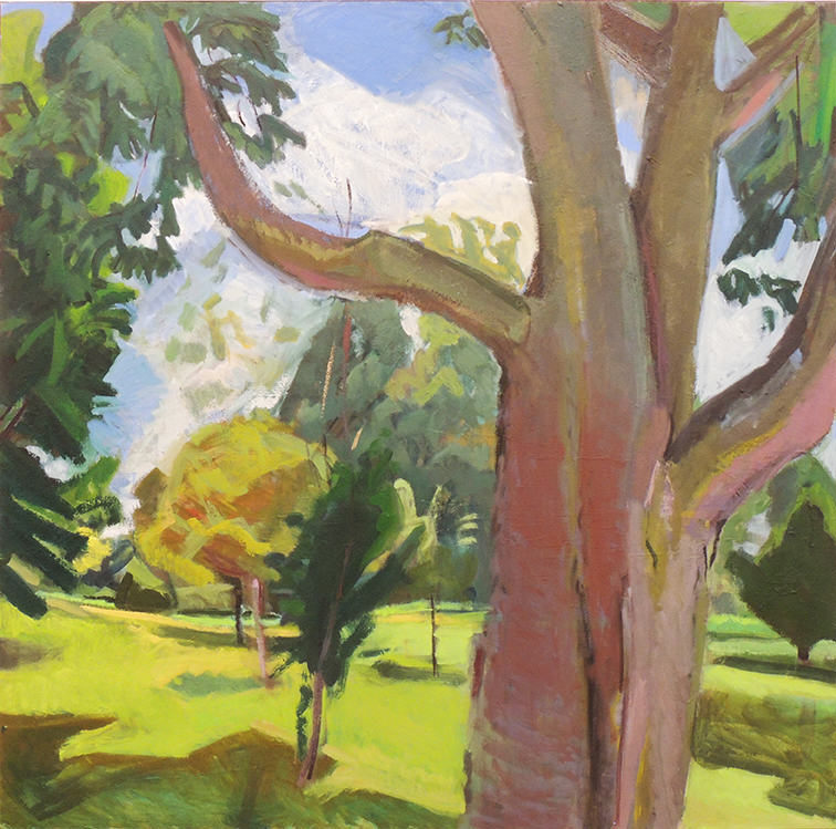 "Deborah Chlebek   ELLIS 120   Oil on canvas   48 x 48""   2016"