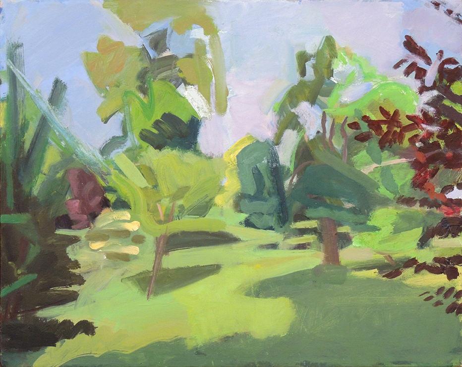 "Deborah Chlebek | ELLIS 121 | Oil on canvas | 16 x 20"" | 2016"