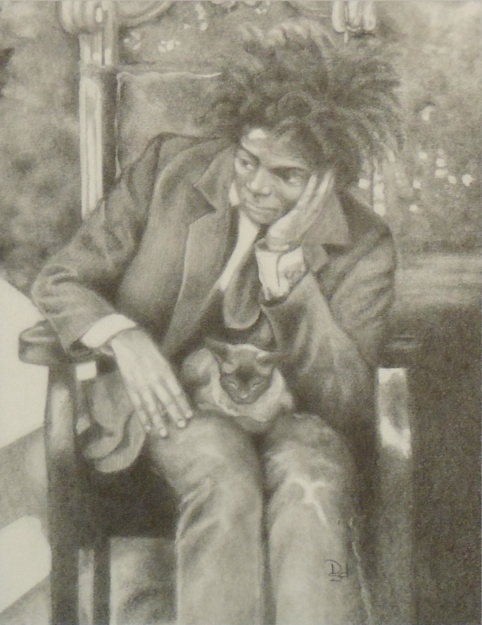 Denise Downs Sutherland | JEAN MICHEL | Graphite