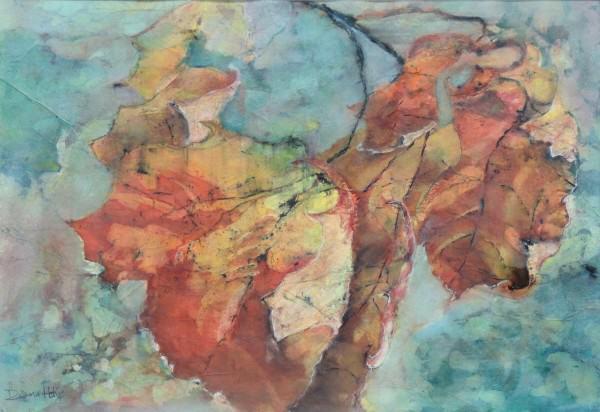Diana Hoke | AUTUMN LEAVES | watercolor