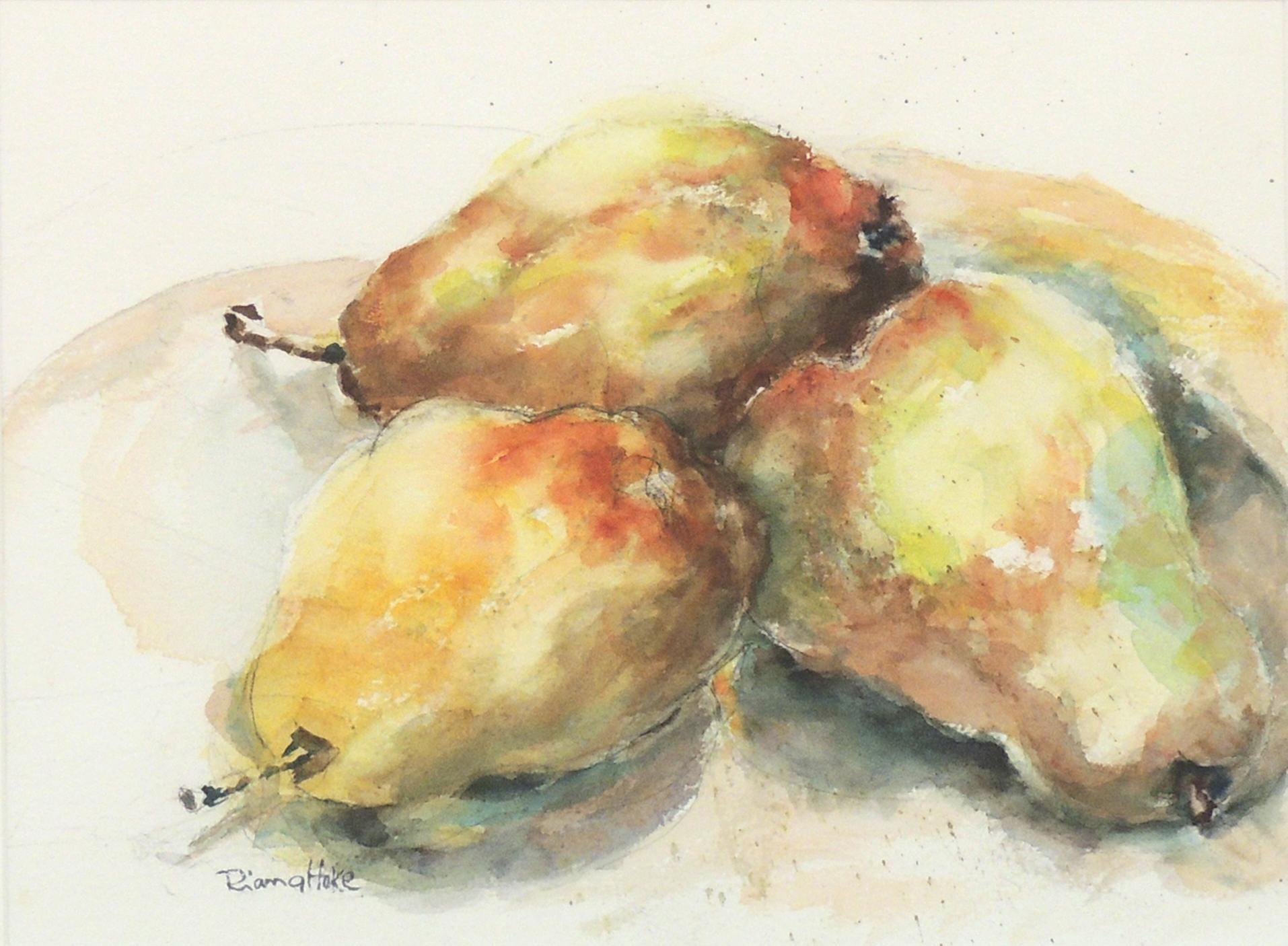 Diana Hoke | PEARS | Watercolor