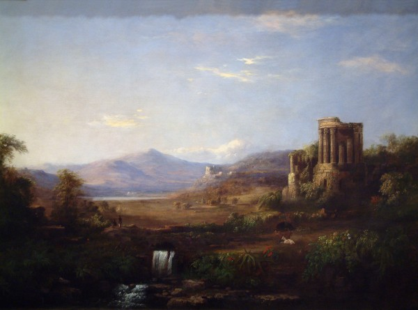 R.S. Duncanson | THE TEMPLE OF SIBYL | from the Permanent Collection