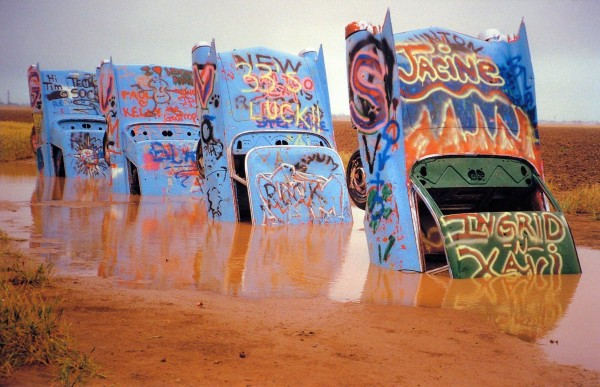 Shellee Graham | CADILLAC RANCH – AMARILLO TEXAS