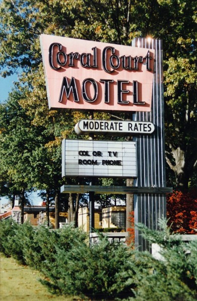 Shellee Graham | CORAL COURT MOTEL SIGN