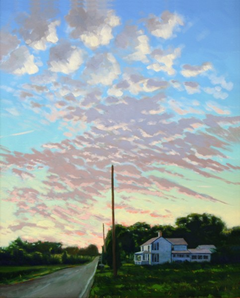 Ed Charney | SPARROW ROAD | oil on canvas