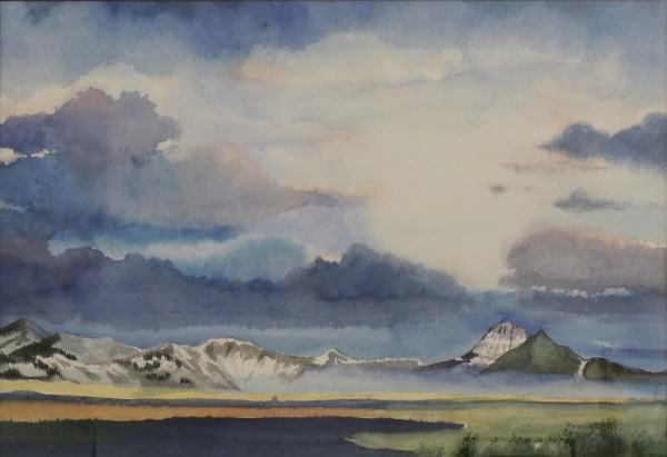 Enid	 Willard | MONTANA LIGHT | watercolor