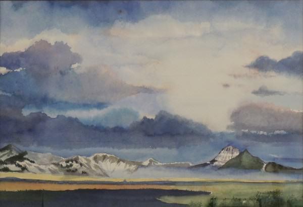 Enid Willard | MONTANA LIGHT | watercolor