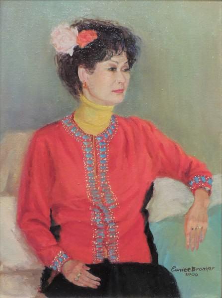Eunice Bronkar | CHOON DHO TANNER | oil on canvas | 2006