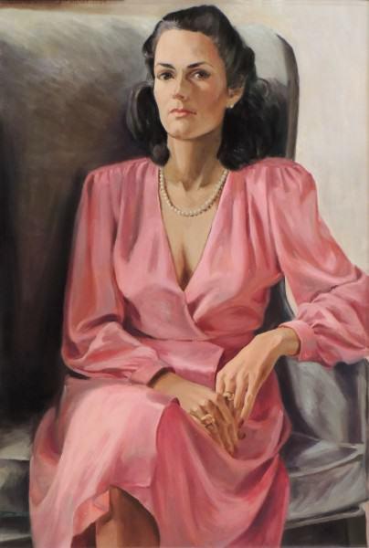 Eunice Bronkar | D'ARCY CATRON WAGNER | oil on canvas | 1984