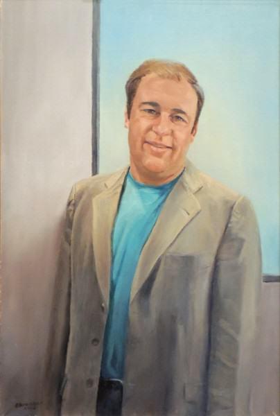 Eunice Bronkar | DR. KENNETH PUGAR, D.O. | oil on canvas | 2012
