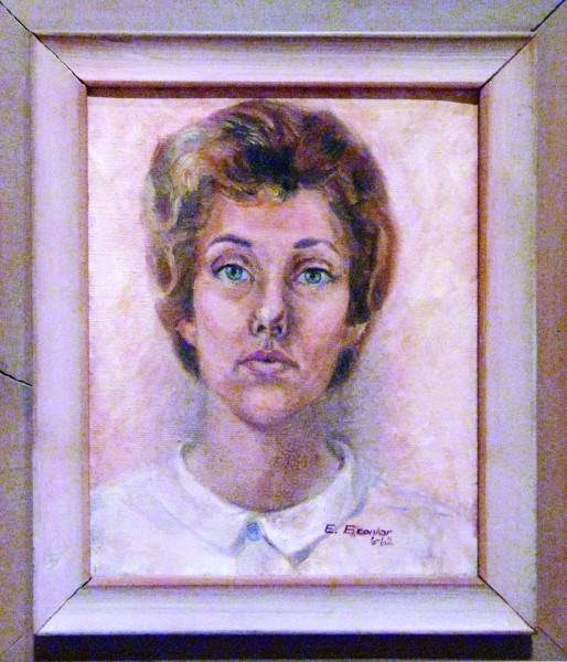 Eunice Bronkar | SELF-PORTRAIT | 1962