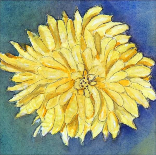 Third Place Amateur Watercolor | Hink Hart | HAPPY YELLOW