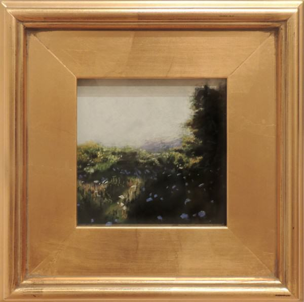 Honorable Mention | Paul Reif | ROUTE 55 PRAIRIE | soft pastel | 6 x 6""