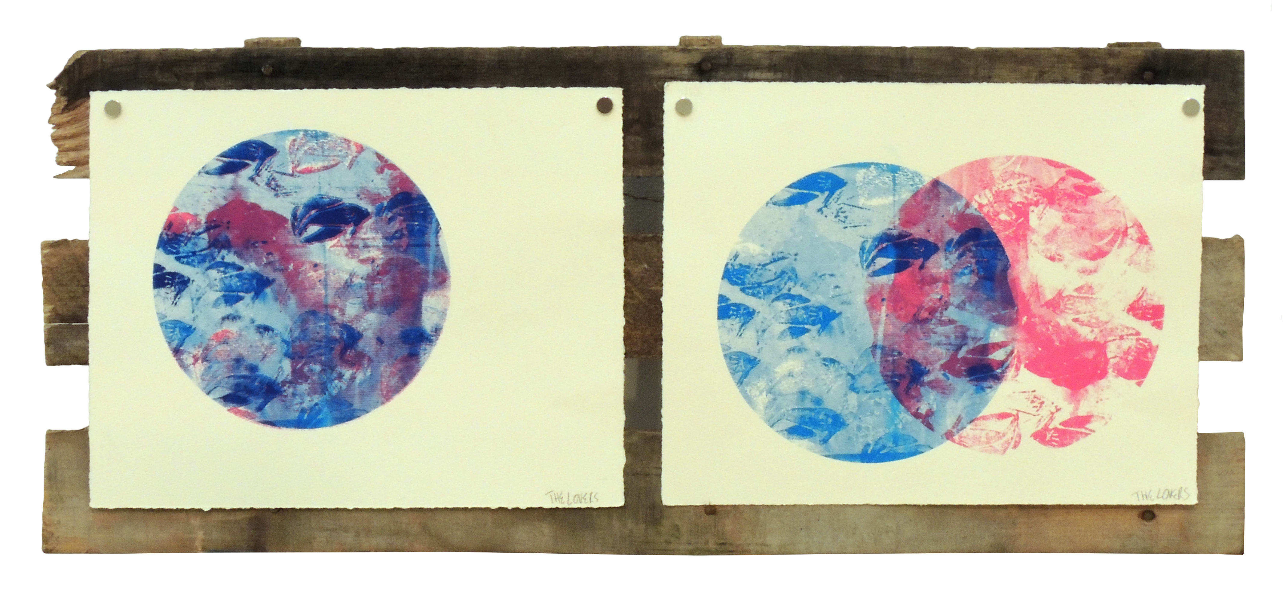 Honorable Mention | Ryan A. Ramirez | THE LOVERS | Screen Print