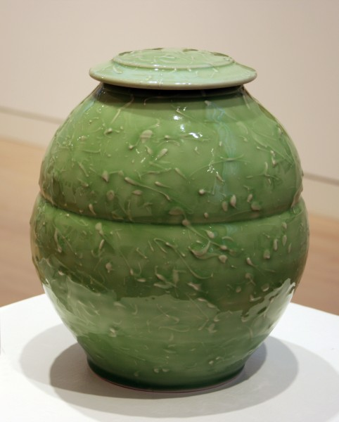 Scott Dooley | LIDDED JAR | porcelain