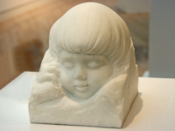 Nilda Maria Comas | SLEEPING CHILD | marble | 2003