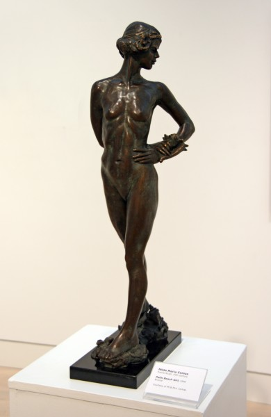 Nilda Maria Comas | PALM BEACH GIRL | bronze | 1998