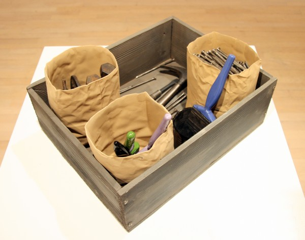 Victor Spinksi | TOOL BOX I | ceramic | 1998