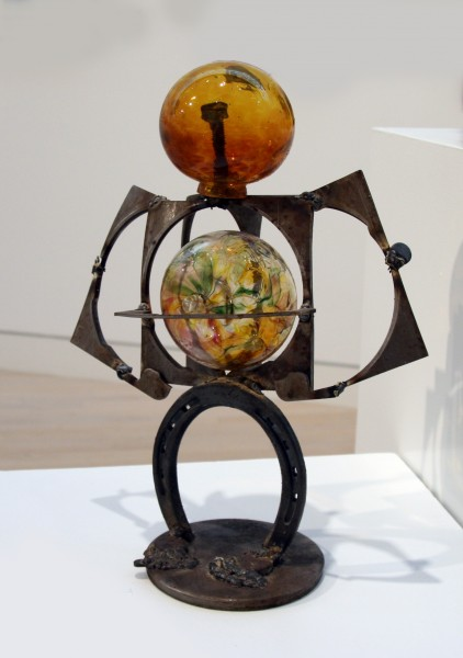 Kurt Fisher | EXPECTING | metal and glass