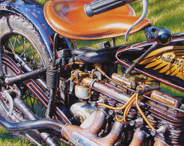 Jason Morgan | INDIAN FOUR | acrylic on canvas | 2009