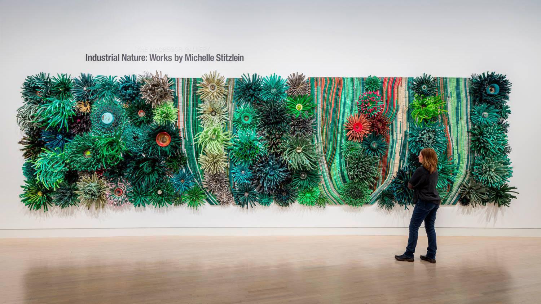 Industrial Nature Works By Michelle Stitzlein
