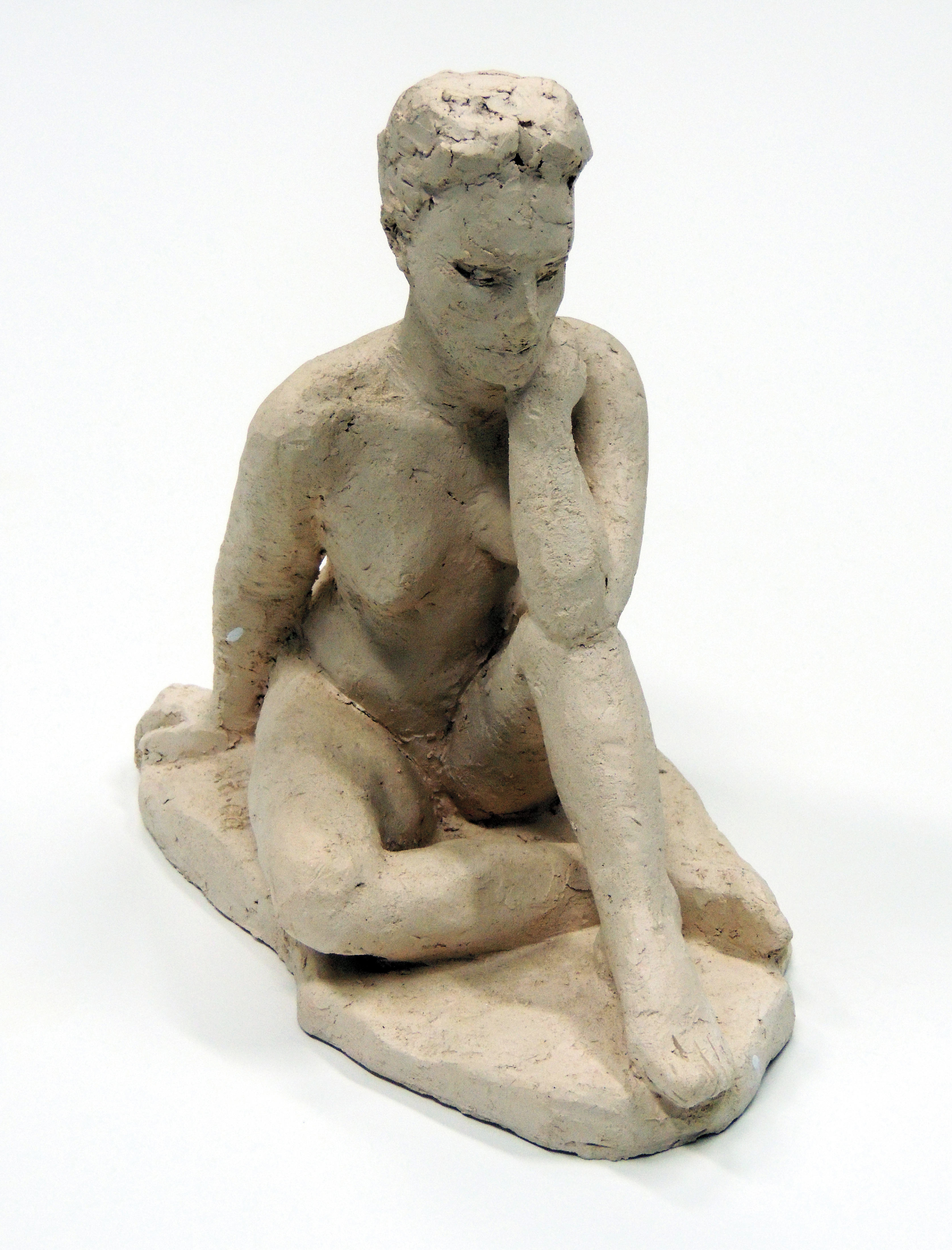 Jane Hollenbeck | UNTITLED | clay | 9 x 5 x 8"