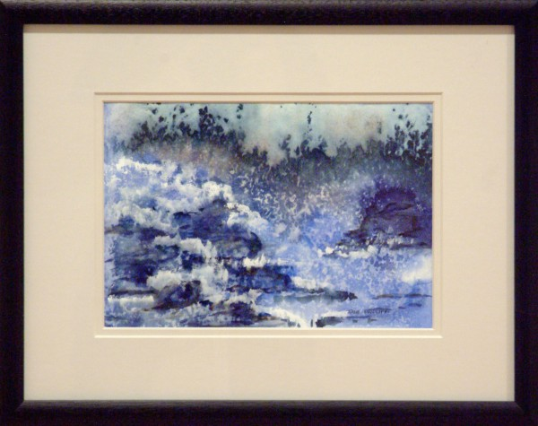 Honorable Mention | Jane Phillippi | TURBULENCE | transparent watercolor | 2013