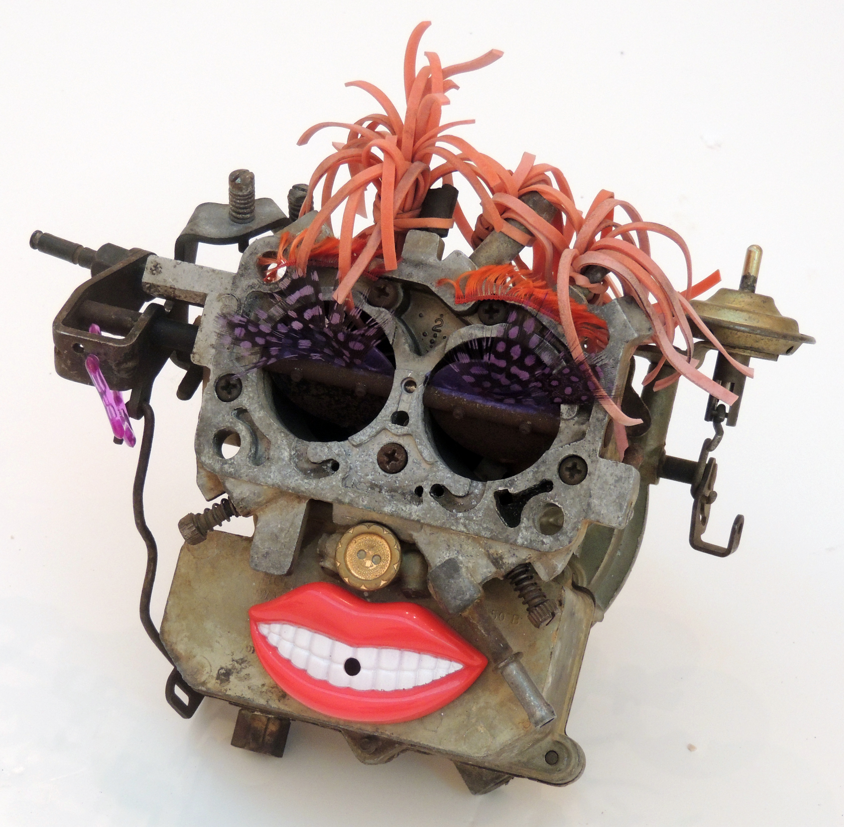 Janice Schnipke | MADAM CARBURETOR | Recycled Parts