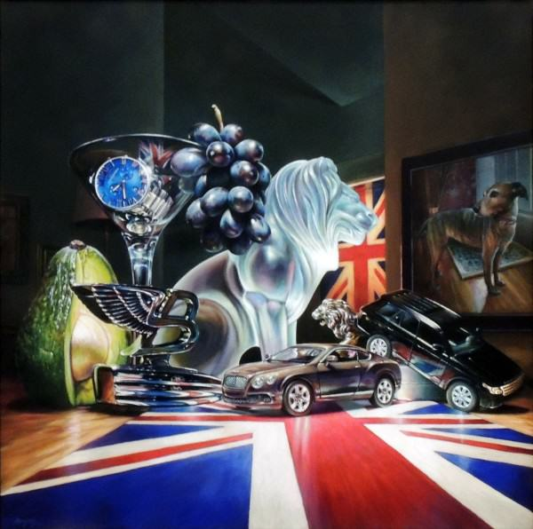 Jason Morgan | ROYAL APPOINTMENTS | acrylic on canvas | 2014