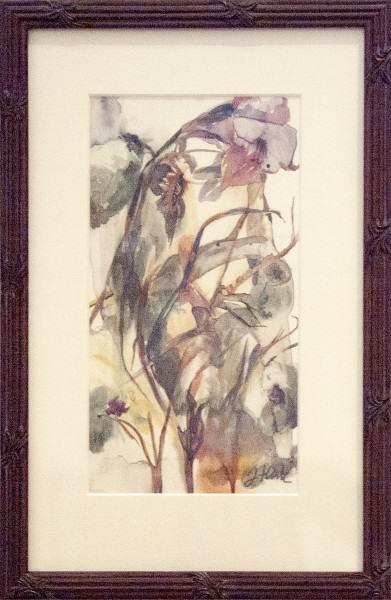 JenniferHaack | IRIS DREAM | watercolor on paper