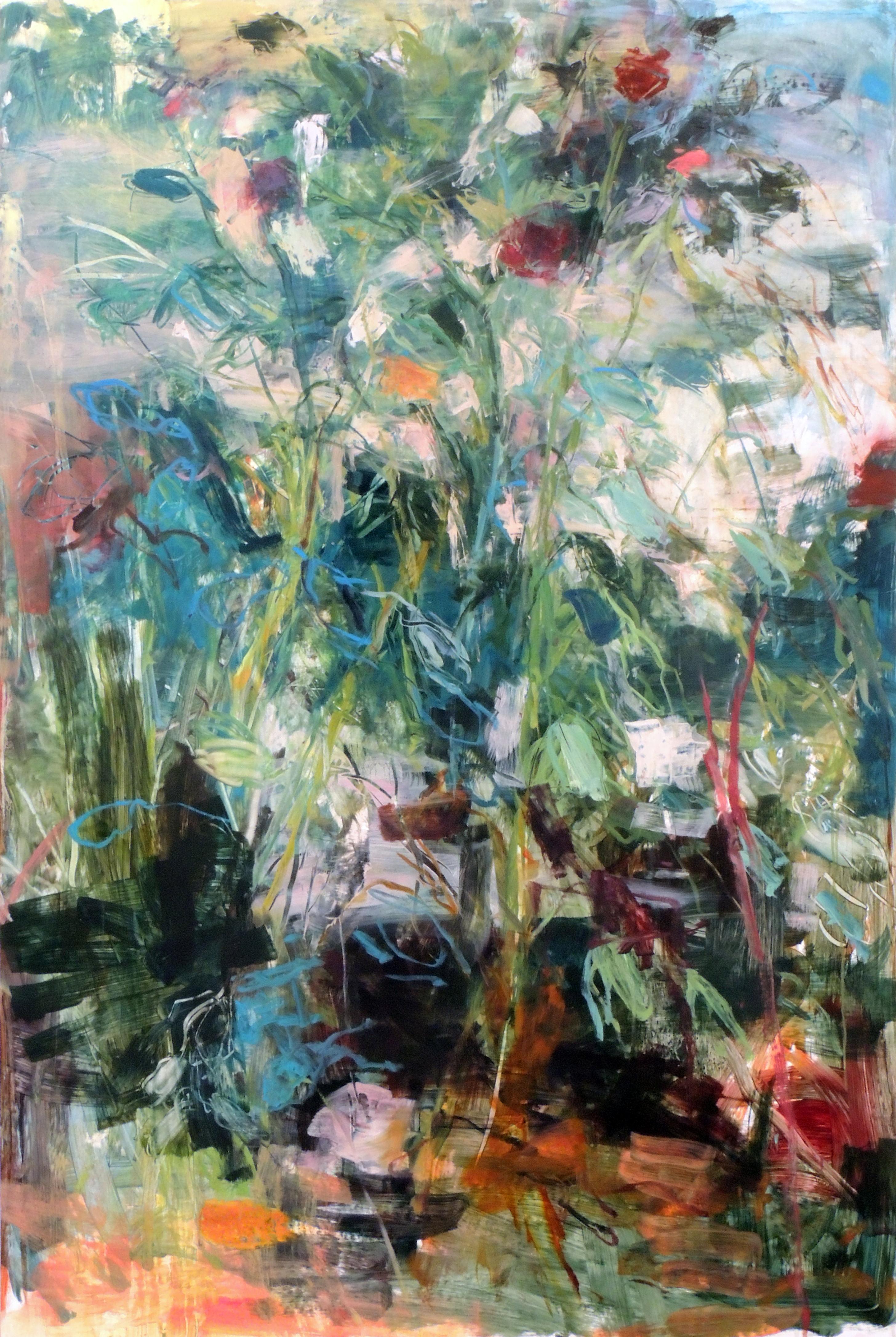 Jennifer Rosengarten | CONSTABLE'S DREAM | Oil on Yupo mounted on panel