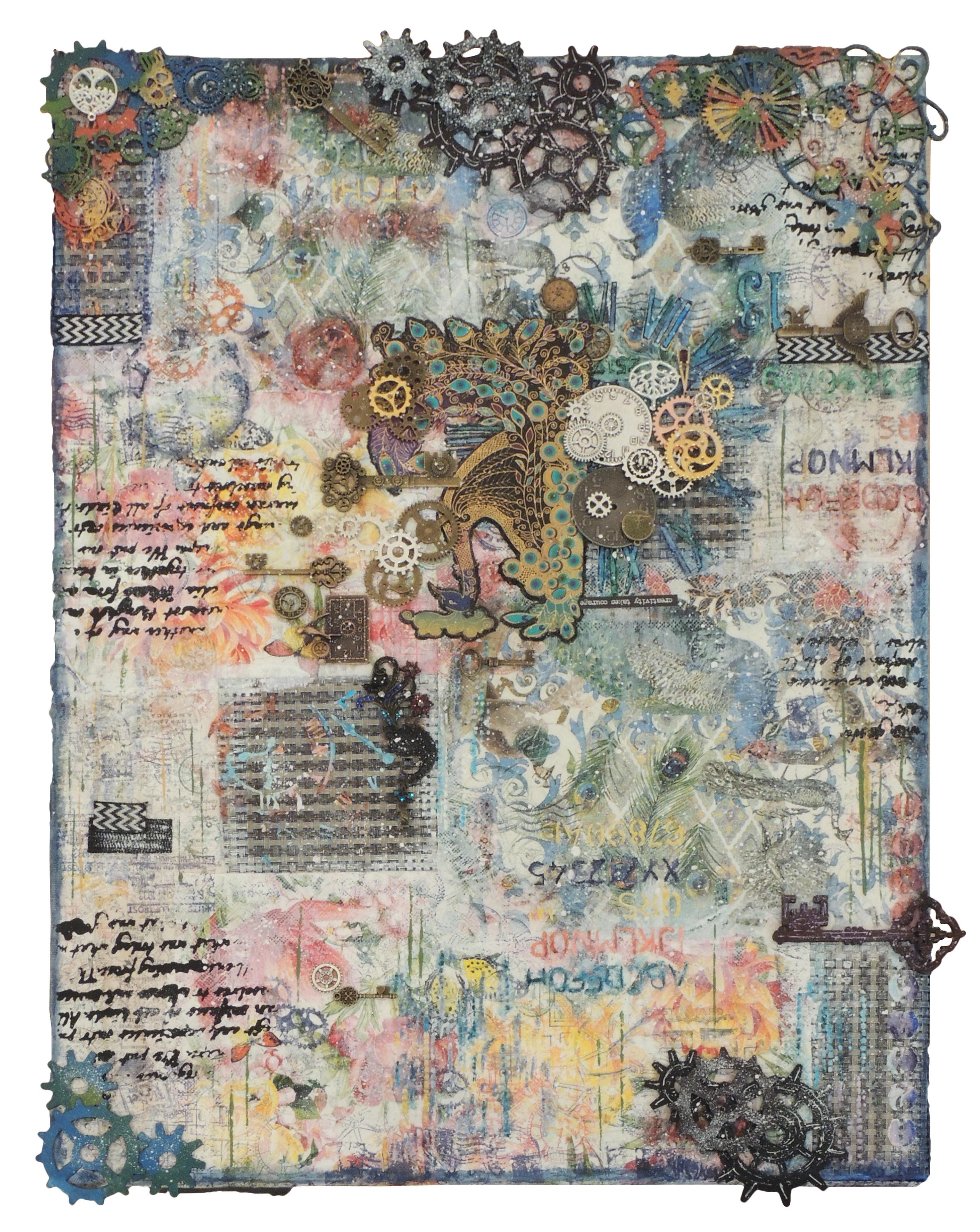 Jennifer Tritle | CREATIVITY TAKES COURAGE | Mixed media
