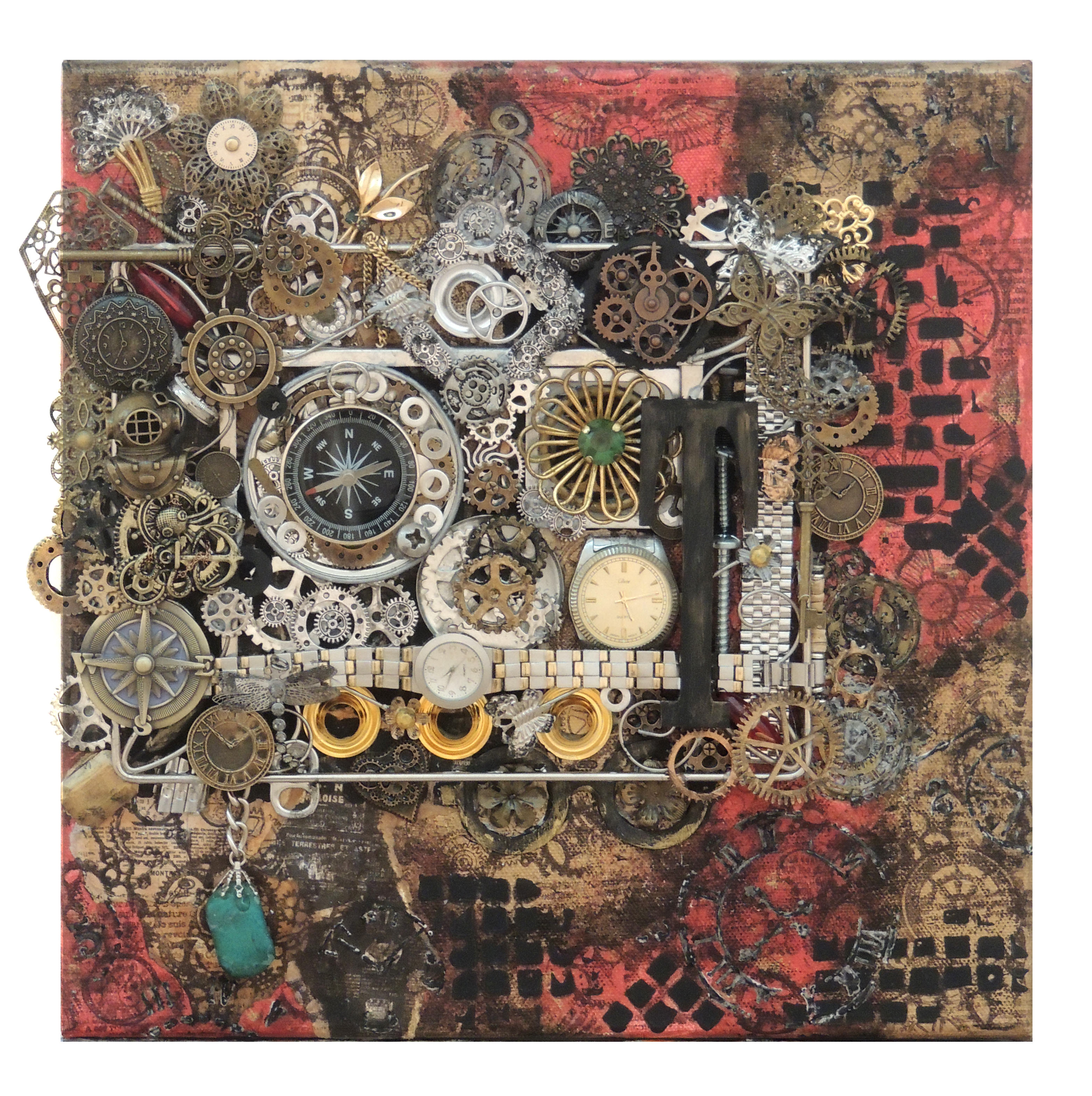 Jennifer Tritle | DISTANCE AND TIME | Mixed Media