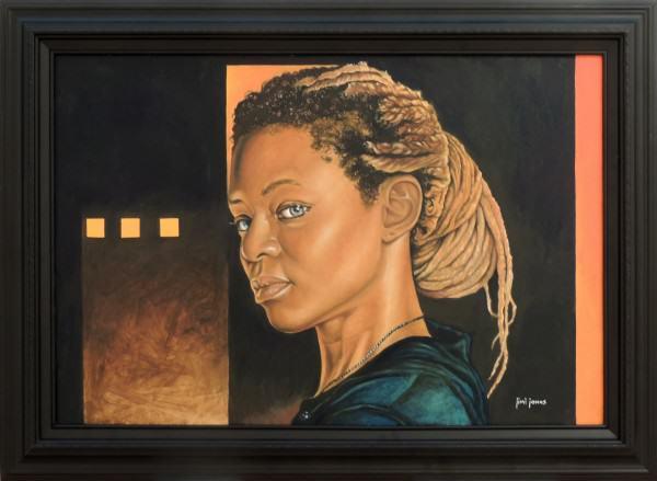 JimiJones | AIDEN SIMMS | oil on canvas