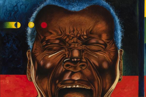 "Jimi Jones | SOMETIMES I JUST WANT TO SCREAM | oil on canvas | 24  36"" | 2014"