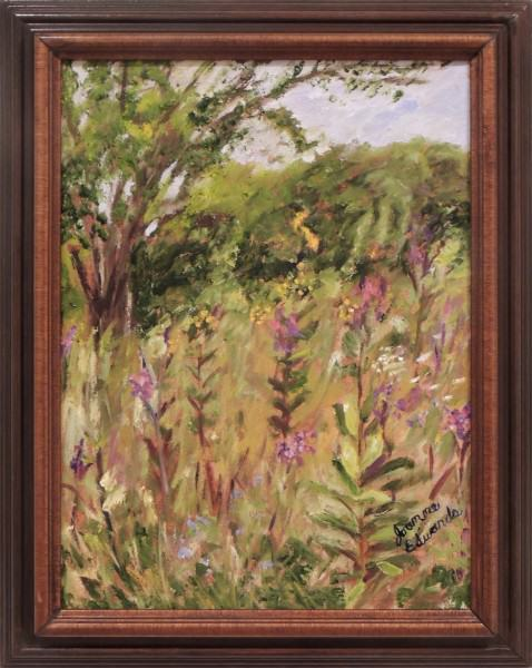 Joanne Edwards | CHAPARRAL PRAIRIE STUDY | oil | 12 x 16""