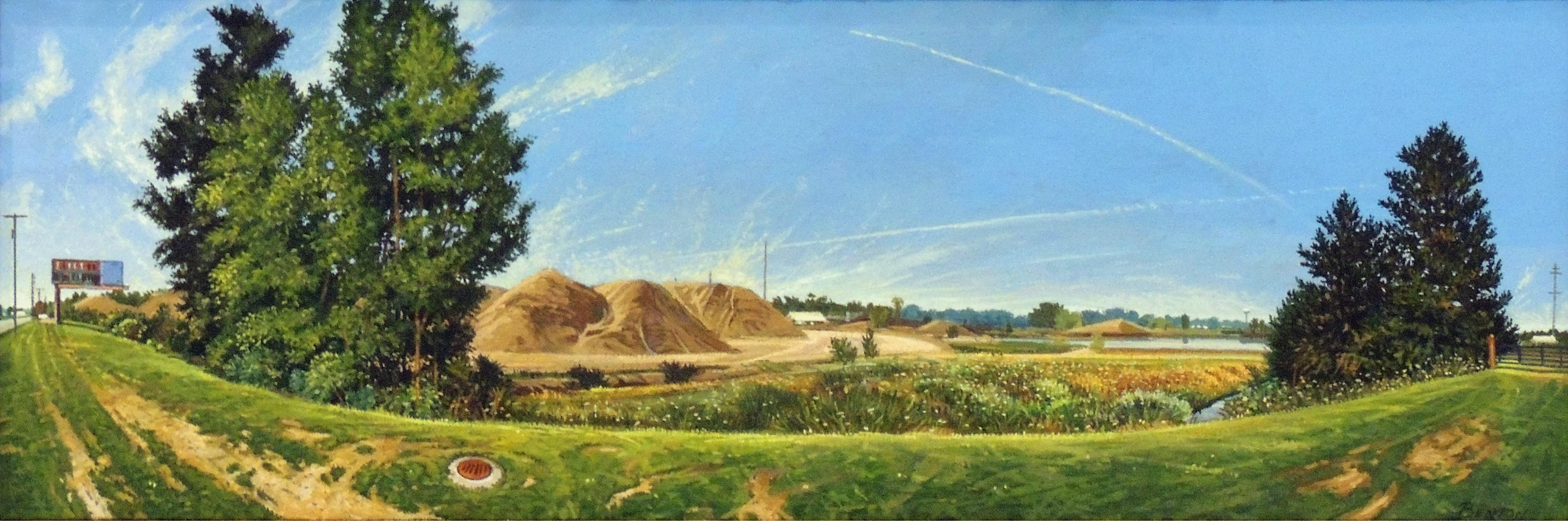 John Benton | EARLY SUNDAY MORNING | oil on canvas