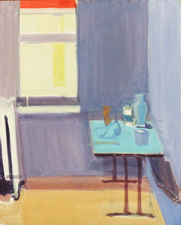 "John Goodrich | STUDIO CORNER | Oil on board | 24 x 30"" | 2008"