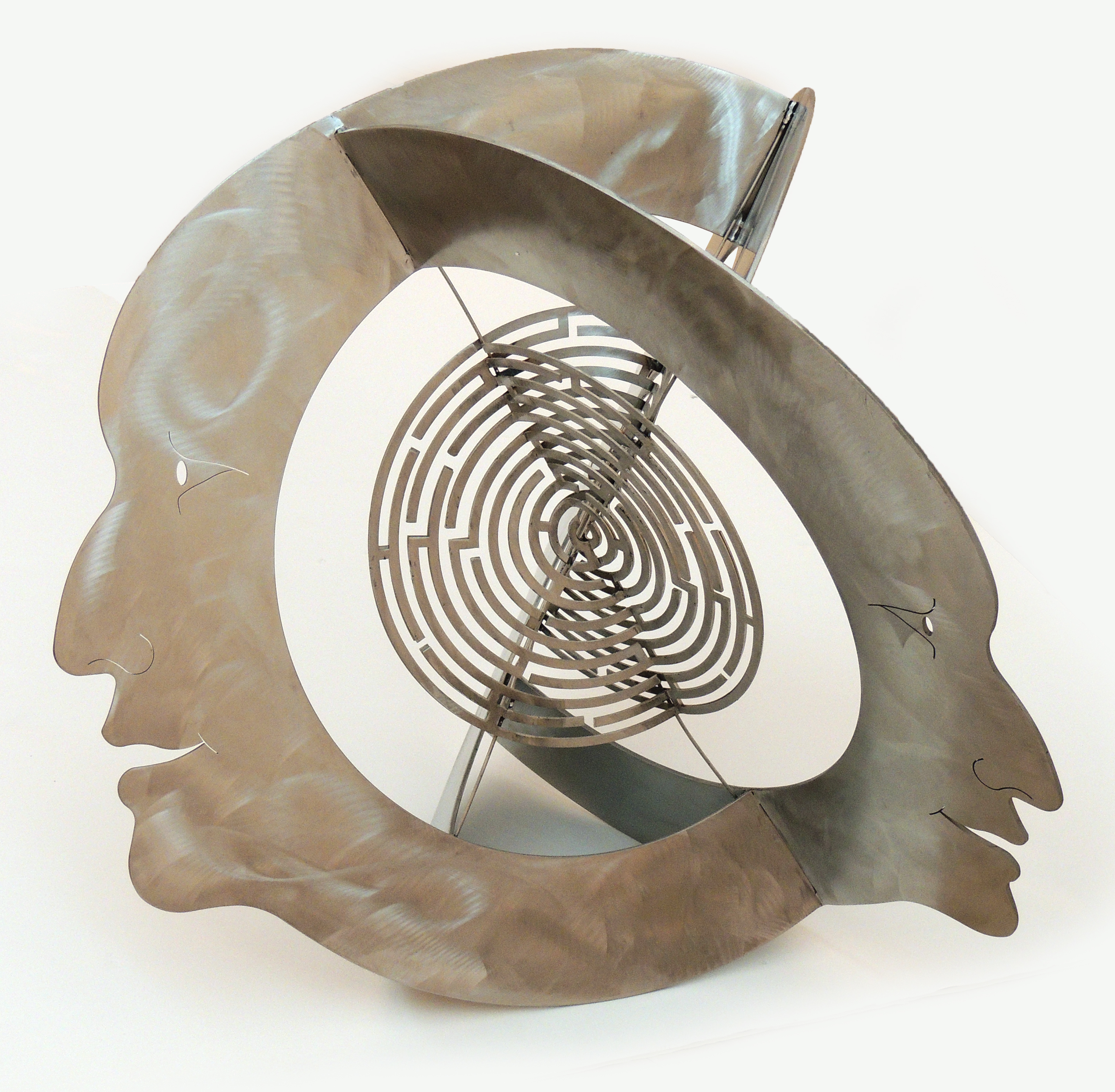 Jon Barlow Hudson | EIDOLON – LABYRINTH | Stainless Steel