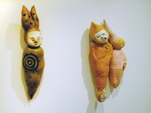 Juliellen Byrne | ONE IS FOR BAD NEWS TWO IS FOR MIRTH | ceramic